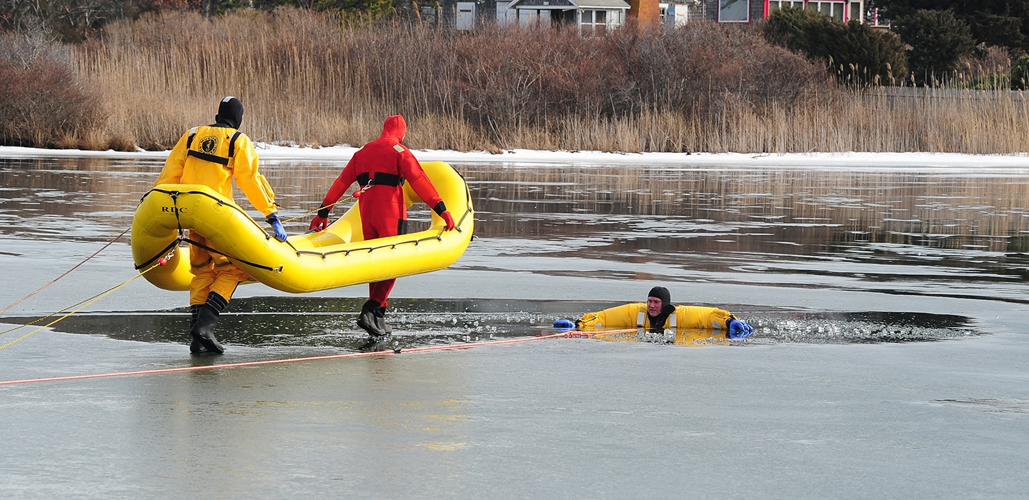 Let's Not Meet This Way- Use Caution On The Ice